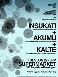 Kalte Live @ Supermarket, June 22